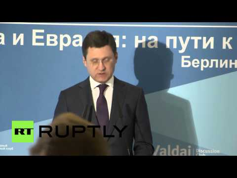 Germany: EU bureaucracy hamstrings bloc's energy projects - Russian energy minister