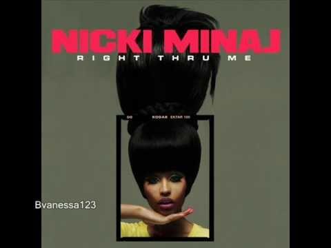 Nicki Minaj - Right Through Me (PINK FRIDAY) - Instrumental/Karaoke + Lyrics (On screen)