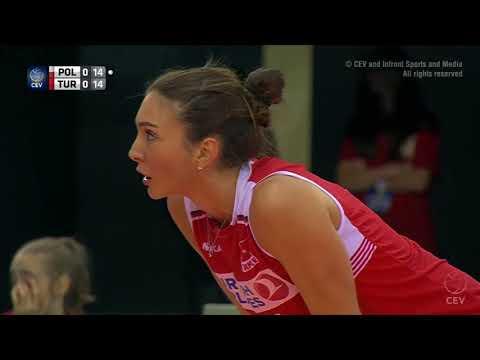 The Best Naz Aydemir In European Champion