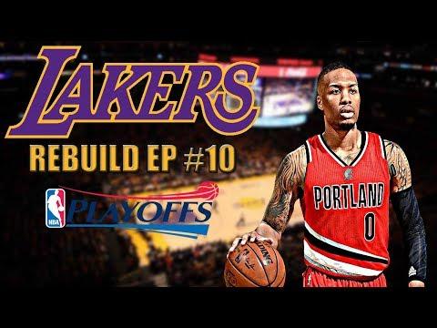 Damian Lillard & C.J McCollum Best Backcourt? NBA Sleeper Team of 2018 | NBA 2K17 MyGM Ep.10