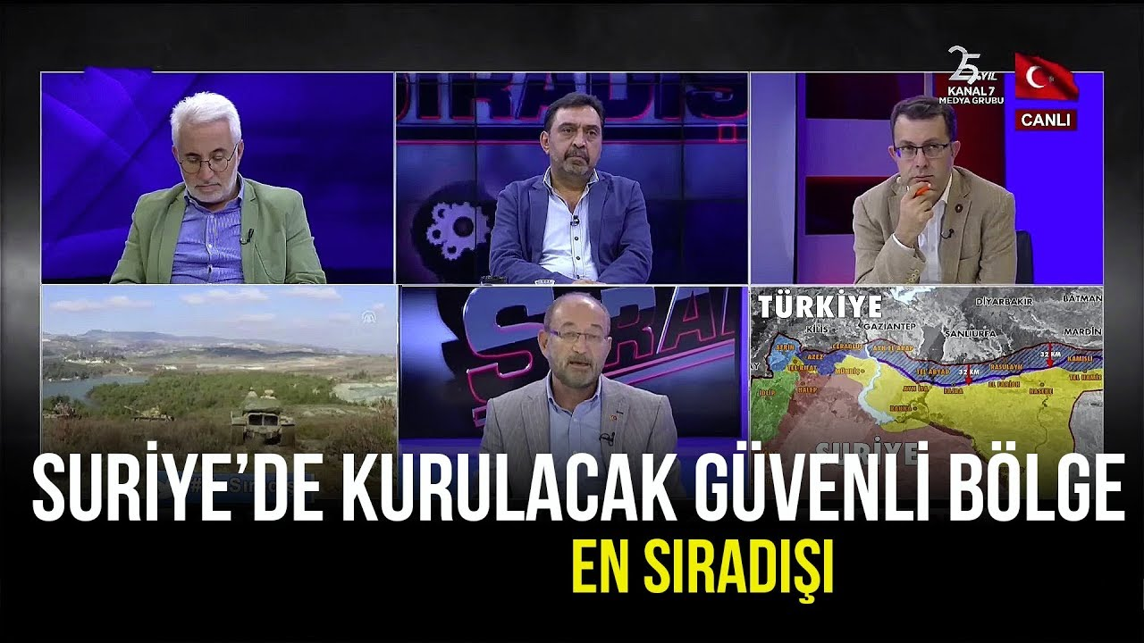 Amerika'dan Türkiye'ye, Suriye'de Güvenli Bölge Sözü! - En Sıradışı - 7 Ağustos 2019