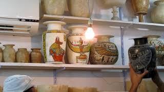 Сувениры  Изделия из алебастра, мрамора, камня в Египте  Экскурсия