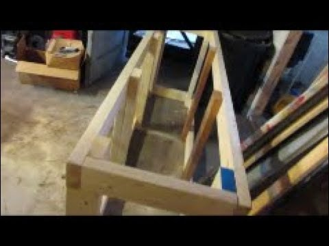 How to build a aquarium stand for 125 gallon fish tank
