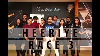 Heeriye - Race 3 | Salman Khan, Jacqueline | Xavier's Dance Studio Choreography | 2018
