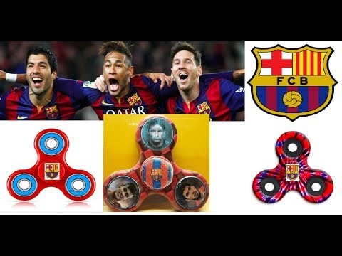 Barcelona spinner // Κατασκευη σπινερ Μπαρτσελονα Μεσι Νειμαρ Σουαρες / construction spinner Barca