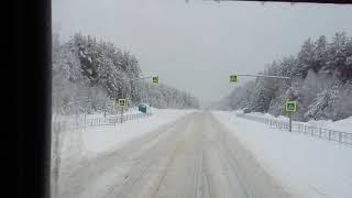 Итеко#62. 29.02.2020г. Последний день зимы,снега по ...с Сыктывкара на Рязань....