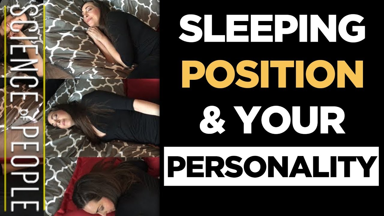 What Your Sleeping Position Says About Your Personality Youtube