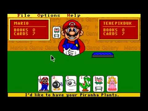 Mario 39 s game gallery youtube for Mario go fish