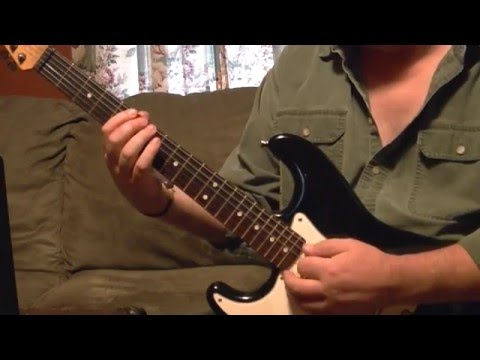 Robin Trower Daydream Lesson Tutorial Part 1 of 2