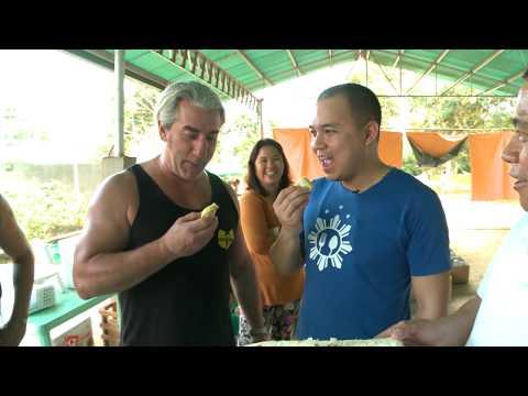 Hamachi Kama (tuna Collar) And Durian In Davao City, Philippines