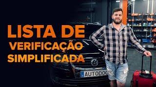 Manutenção de carros - tutorial gratuito