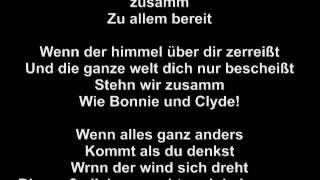 Sarah Connor & Henning Wehland - Bonnie & Clyde / LYRICS