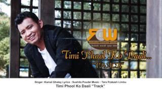 Timi Phooleko Daali by Kamal Ghale Karaoke Official Track