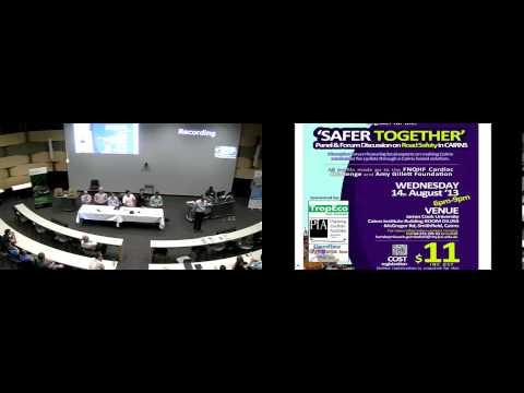Safer Together Forum at Cairns Institute