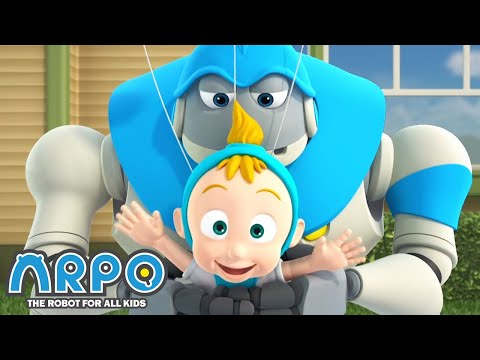 smelly-baby-daniel!---arpo-the-robot- -funny-cartoons-for-kids- -kids-series- -animation