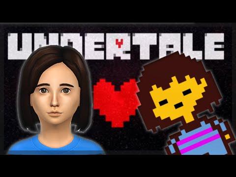 the sims 4 create a sim frisk undertale youtube