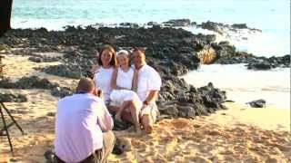 Maui family sunset video and photo shoot