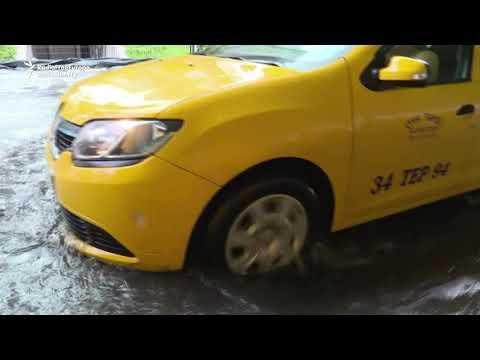 Heavy Rain In Istanbul Triggers Flash Floods