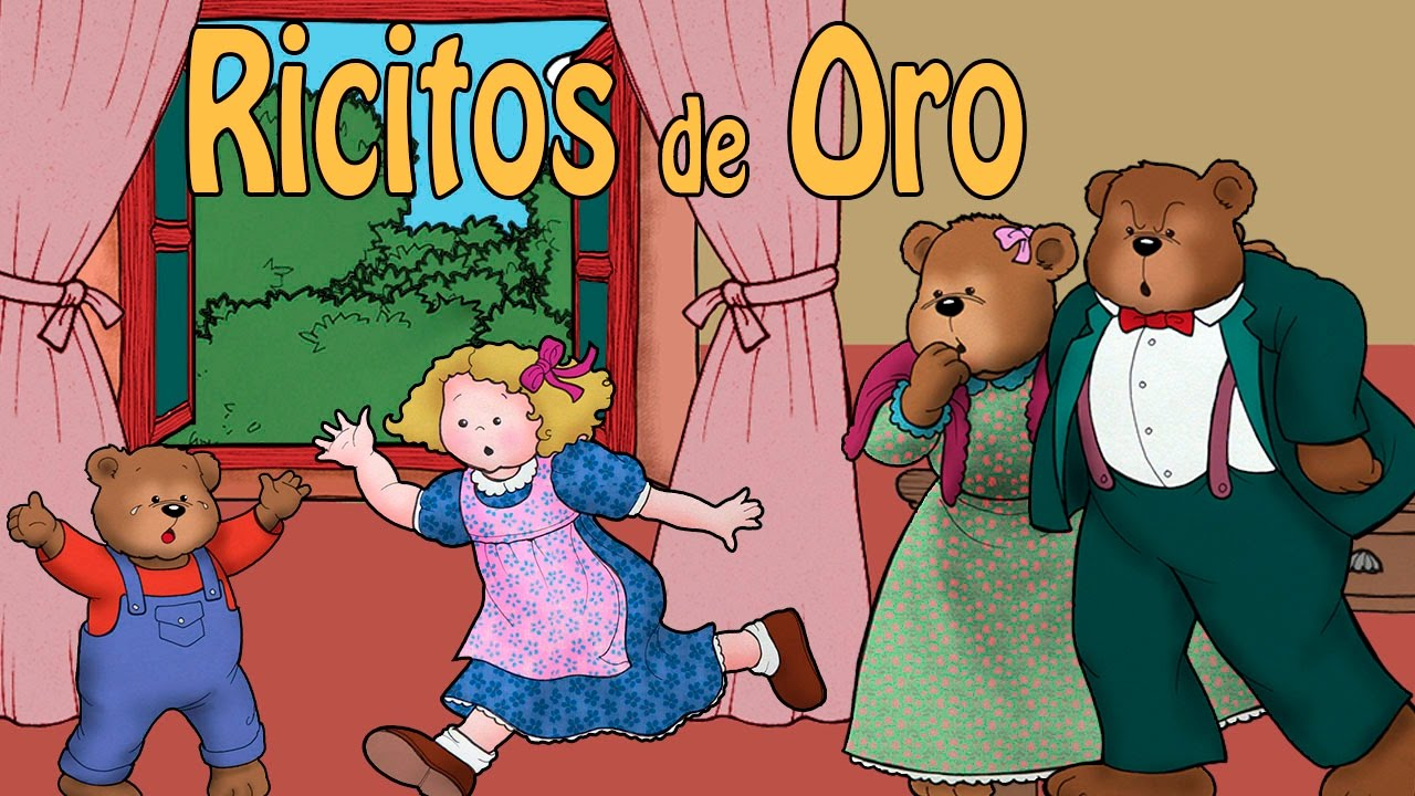 Ricitos De Oro Y Los Tres Osos Video Cuento Infantil Youtube