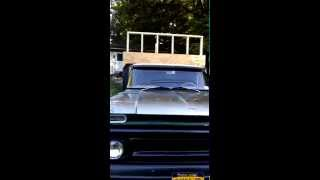 Part 2 Diy Tiny House Cabin On 1962 Chevy Flat Bed