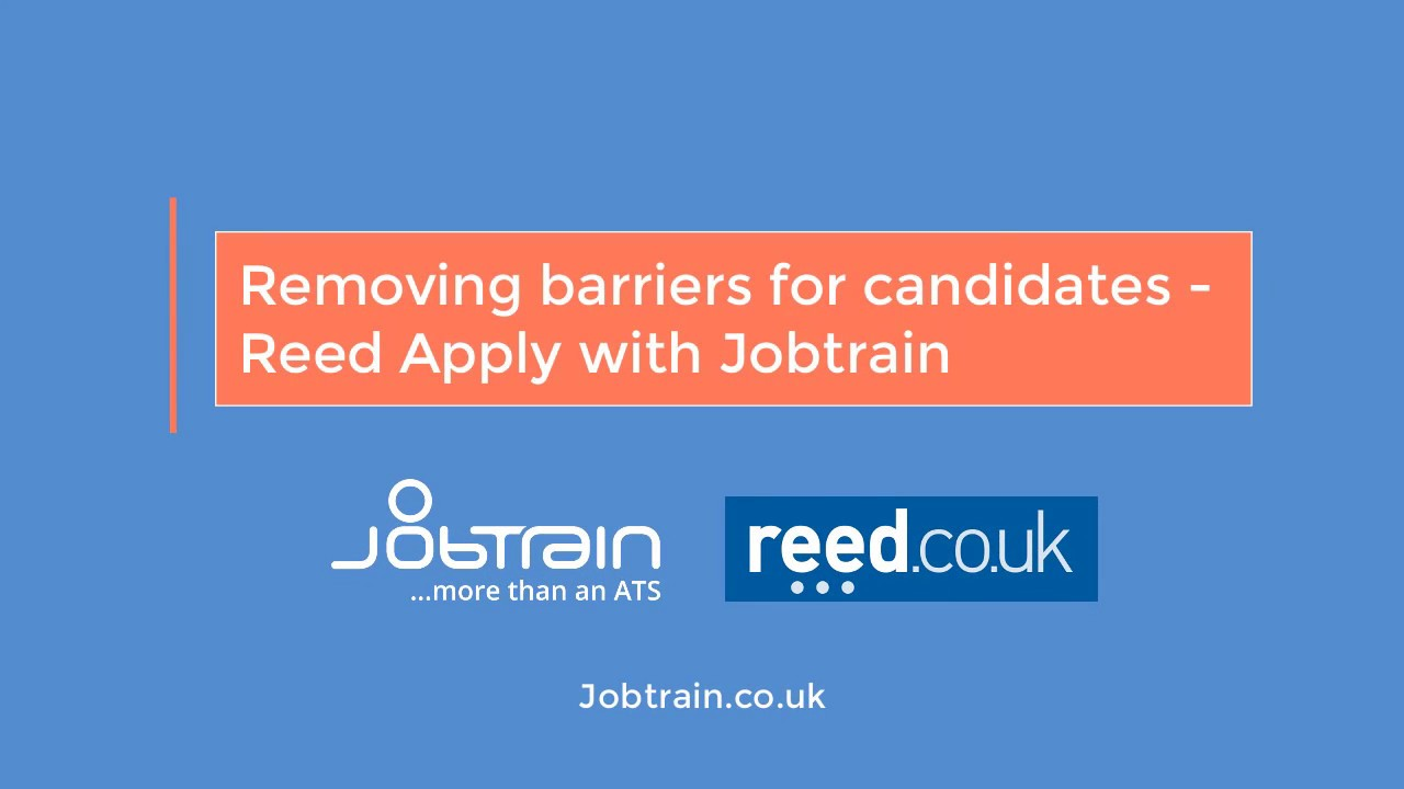 Make Your Recruitment Effective With Reed Integrate And Jobtrain Jobtrain