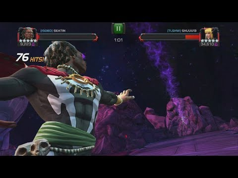 Tier 1 Alliance War Gameplay - Magik Fiesta - Marvel Contest Of Champions