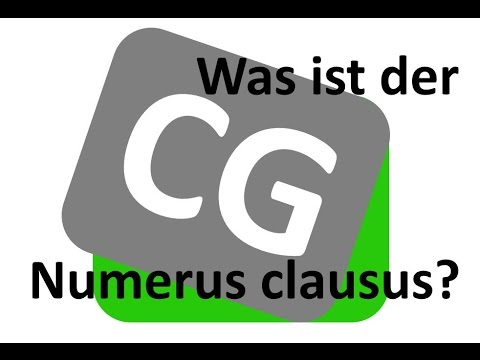 Was ist der numerus clausus nc youtube for Was ist numerus clausus