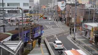 京阪電車大津線「中二病でも恋がしたい!」ラッピング電車