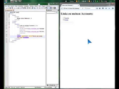 HTML Tutorial [8] - Textfelder Und Buttons