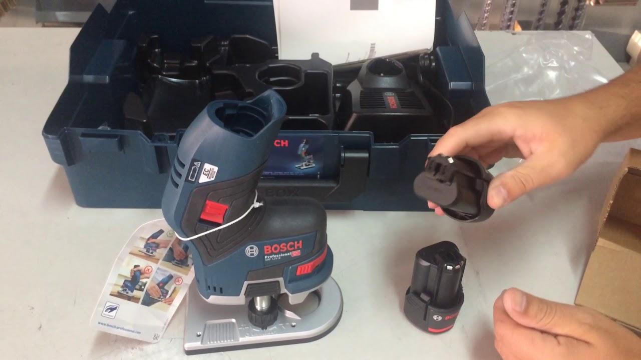 Bosch GKF 12V-8 NEW PALM ROUTER - YouTube