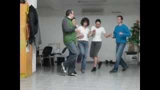 Урок по НАРОДНИ ТАНЦИ - Право тракийско хоро и ширто - Солидарен център Варна