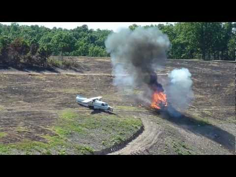ofasts 2012 - sikorsky uh-34d kills two cars