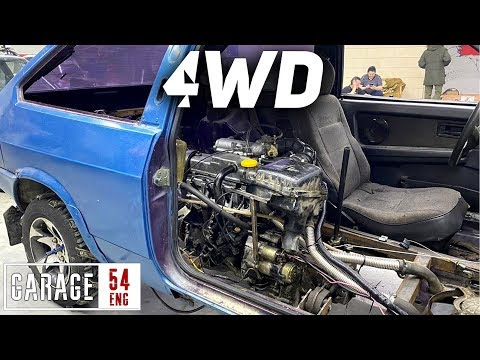 Placing The Motor In The Cabin To Make A Mid-engine AWD Lada