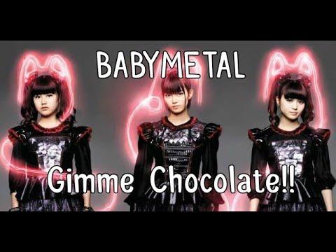 BABYMETAL - Gimme chocolate!! (lyrics Kanji-English + MoaMetal 19th birthday!)