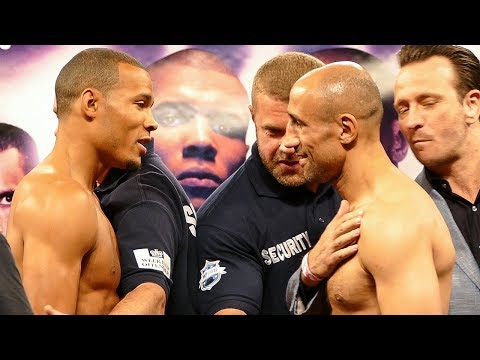 "Thumbnail: CHRIS EUBANK JR ""HEATED TRASH TALK"" FACE OFF vs ARTHUR ABRAHAM"