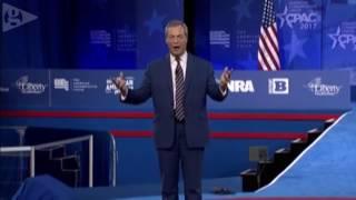 Nigel Farage addresses CPAC 2017 live