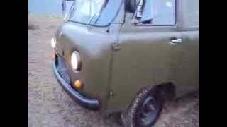 uaz 452 from 1966 test drive