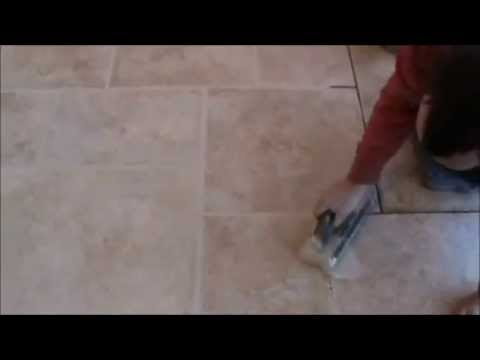 How To Apply Grout, Using a Grout Float