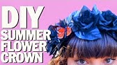 Awesome Floral Crown How-To...Easy to Make!