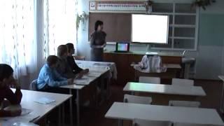 Фрагмент уроку.  Хімія  8 клас