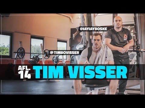 120kg bankdrukken met Tim Visser    #DAY1 Afl. #14