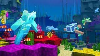 BİR GÜN BOYUNCA DENİZİN ALTINDA YAŞAMAK - Minecraft