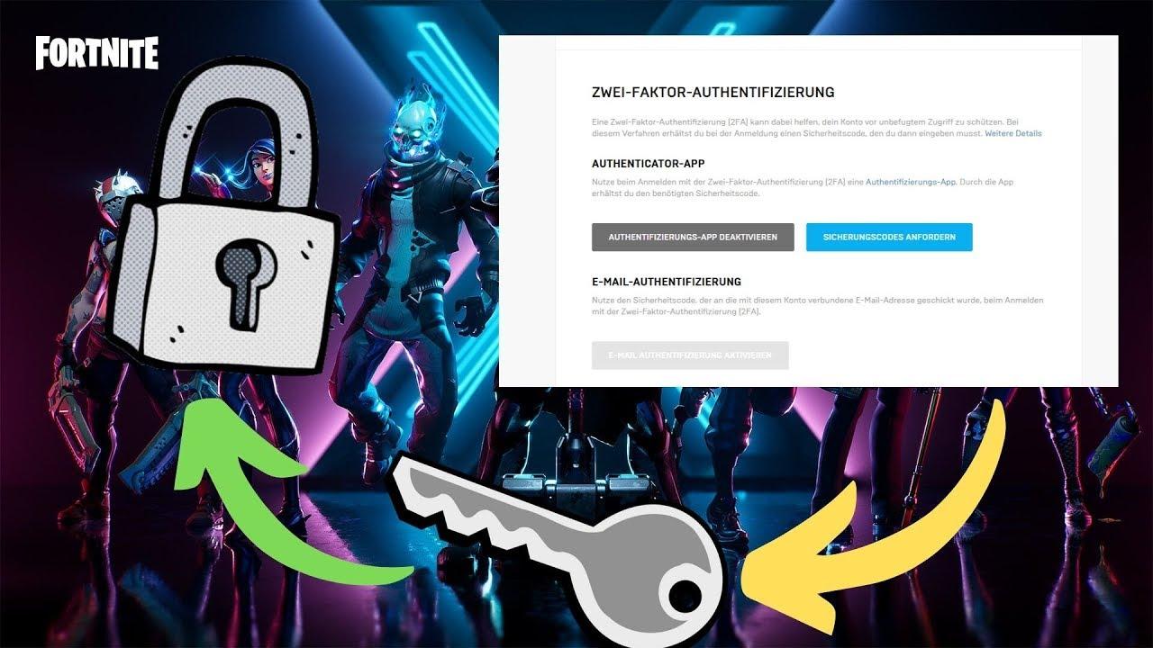 Fortnite 2 Faktor Authentifizierung Aktivieren Fortnite