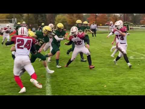 Watch highlights from Muskegon Catholic Central's 60-0 win over Holton