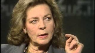 lauren bacall interview afternoon plus 4 1985
