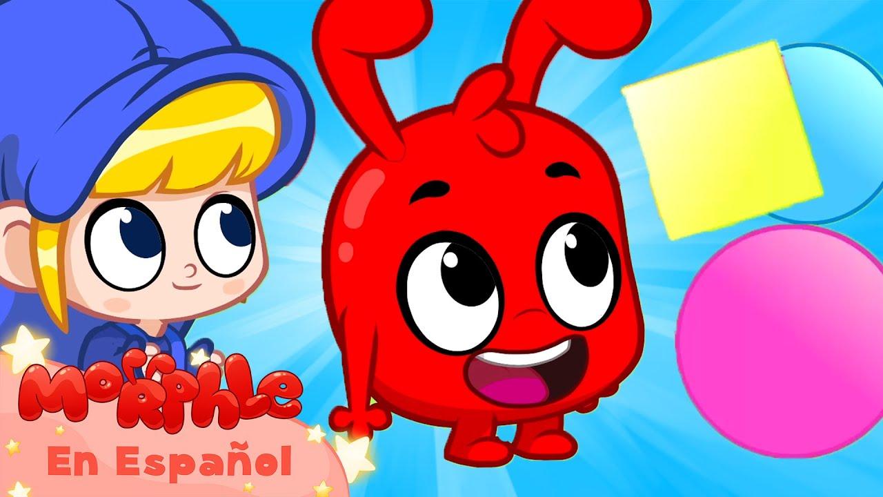 Morphle en Español | Mis formas científicas | Caricaturas para Niños | Caricaturas en Español