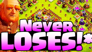 Clash of Clans  ♦ NEVER LOST! ♦ 'Unbeatable*' Base?