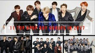 11 top kpop boy groups in 2017