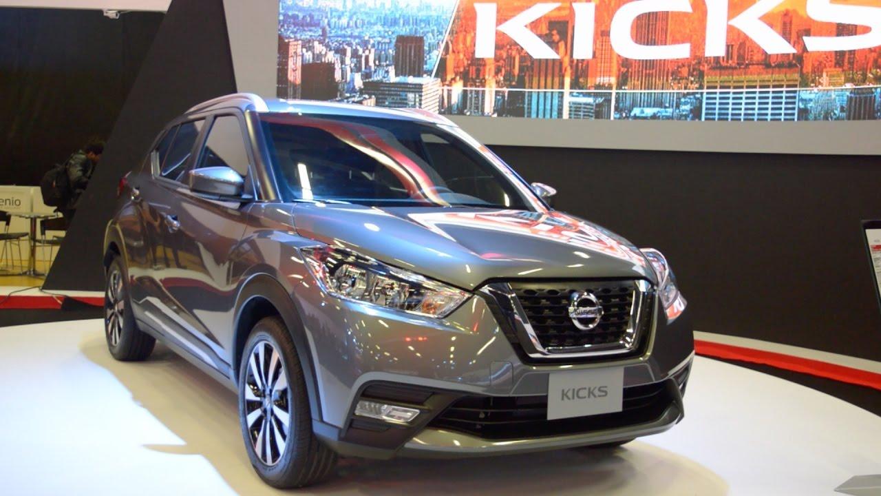 Nissan Kicks: presentación en el Salón del Automóvil de