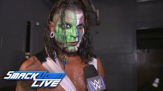 Jeff Hardy has a few tricks ready for SummerSlam: SmackDown Exclusive, Aug. 14, 2018